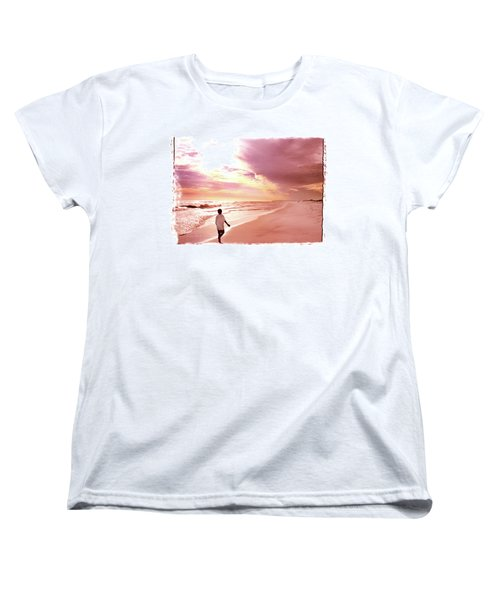 Women's T-Shirt (Standard Cut) featuring the photograph Hope's Horizon by Marie Hicks