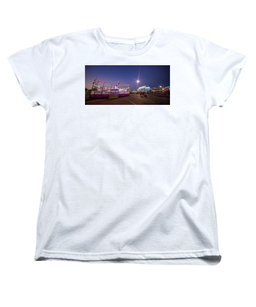 Houston Texas Live Stock Show And Rodeo #12 Women's T-Shirt (Standard Cut) by Micah Goff