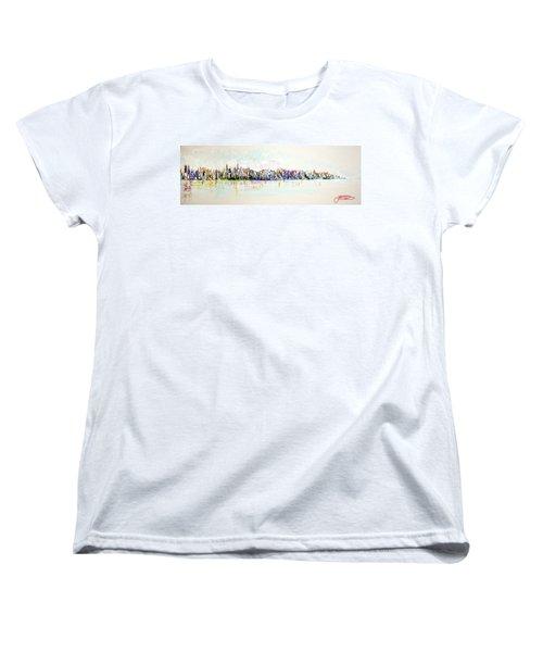 Hudson River View Women's T-Shirt (Standard Cut)