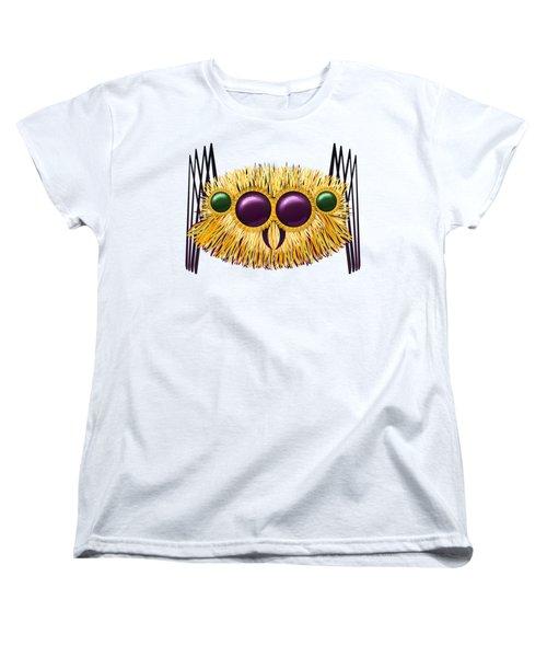 Huge Hairy Spider Women's T-Shirt (Standard Cut) by Michal Boubin