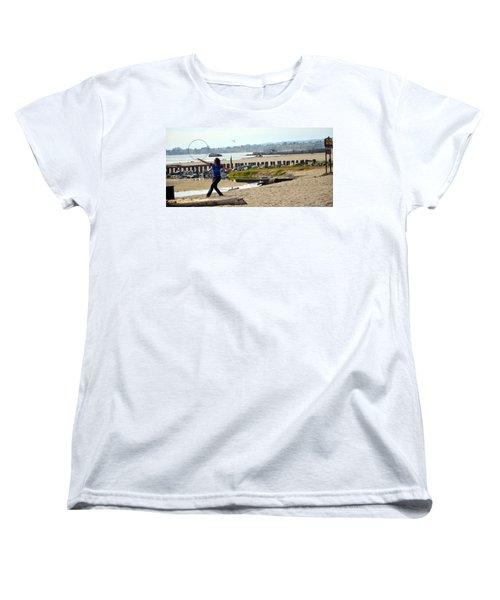 Hula Hoop Dance Women's T-Shirt (Standard Cut) by Antonia Citrino
