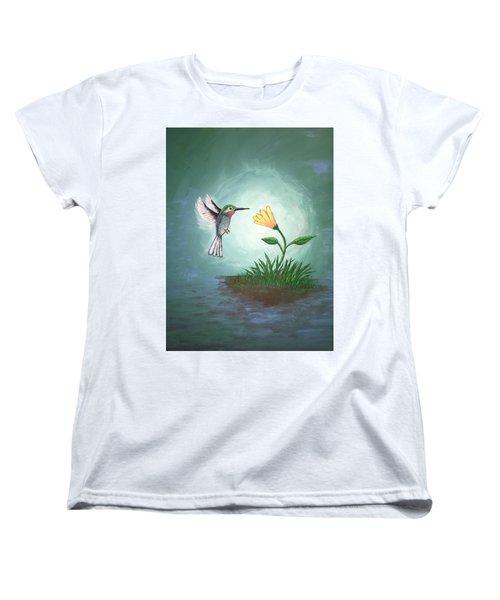 Hummingbird II Women's T-Shirt (Standard Cut) by Antonio Romero