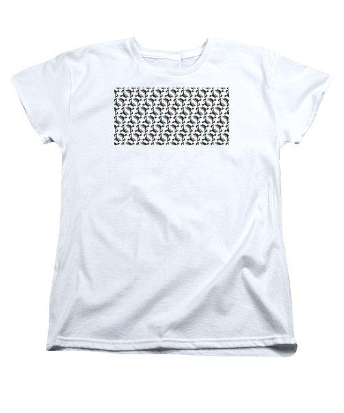 Hummingbird Pattern Women's T-Shirt (Standard Fit)