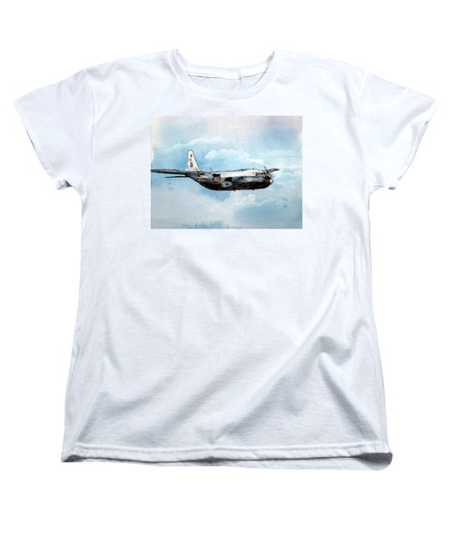 Hurricane Hunter Women's T-Shirt (Standard Cut) by R Kyllo