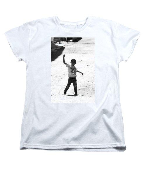 I Am The Champion  Women's T-Shirt (Standard Cut) by Jez C Self