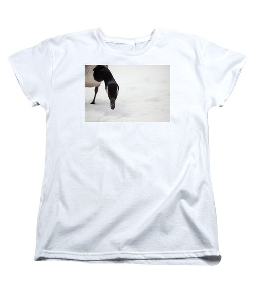 Women's T-Shirt (Standard Cut) featuring the photograph I Do See You by Karol Livote