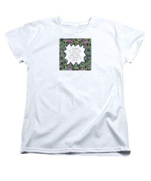 I Promise Women's T-Shirt (Standard Cut)