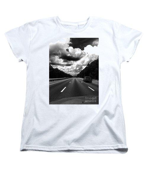 I95 Clouds Women's T-Shirt (Standard Cut) by WaLdEmAr BoRrErO