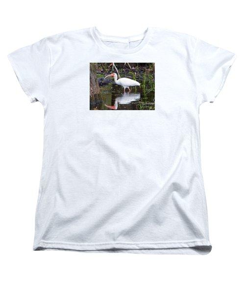 Ibis Drink Women's T-Shirt (Standard Cut) by Mike Dawson