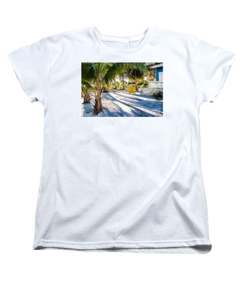 Women's T-Shirt (Standard Cut) featuring the photograph Ice Beans by Lawrence Burry