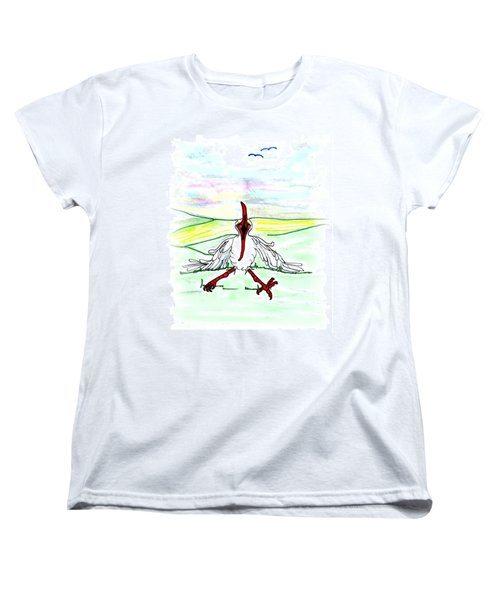 I'll Never Fly Again Women's T-Shirt (Standard Cut)