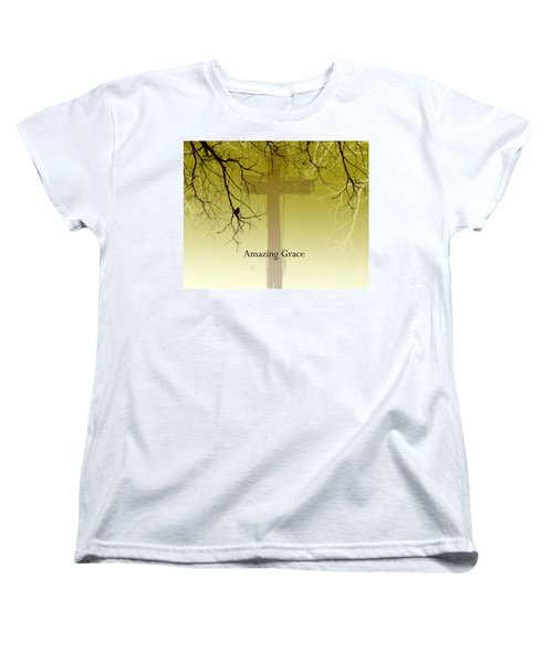 Immanuel- My Saviour Women's T-Shirt (Standard Cut) by Trilby Cole