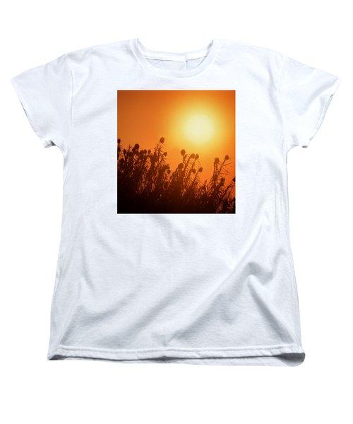 Impalila Island Sunset No. 3 Women's T-Shirt (Standard Cut) by Joe Bonita