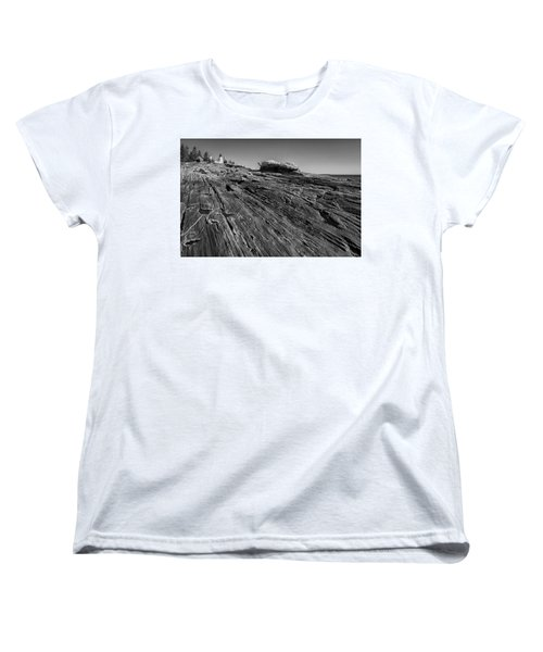 In The Distance Women's T-Shirt (Standard Cut) by David Cote