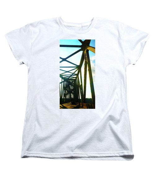 Women's T-Shirt (Standard Cut) featuring the photograph Indefinite Sight by Jamie Lynn