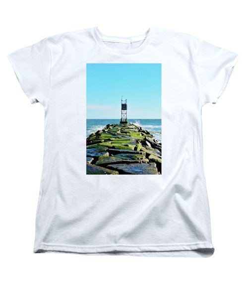 Indian River Inlet Women's T-Shirt (Standard Cut) by William Bartholomew