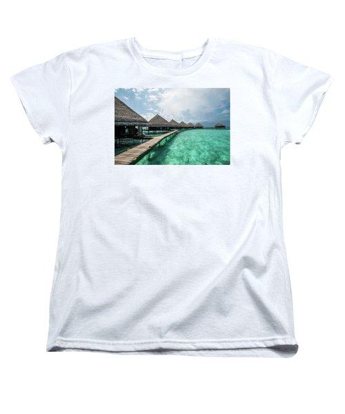 Women's T-Shirt (Standard Cut) featuring the photograph Inhale by Hannes Cmarits