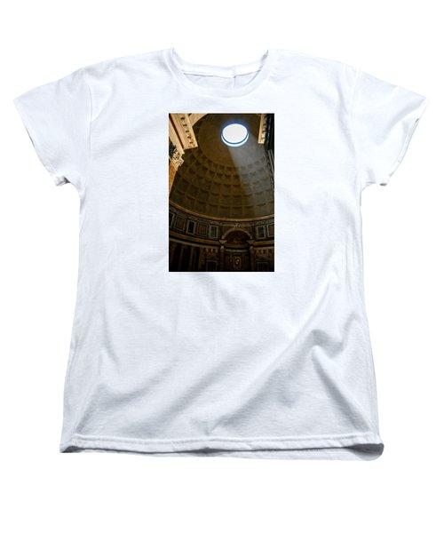 Inside The Pantheon Women's T-Shirt (Standard Cut) by Rainer Kersten