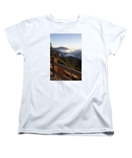 Inspiration Point Women's T-Shirt (Standard Cut) by Ivete Basso Photography