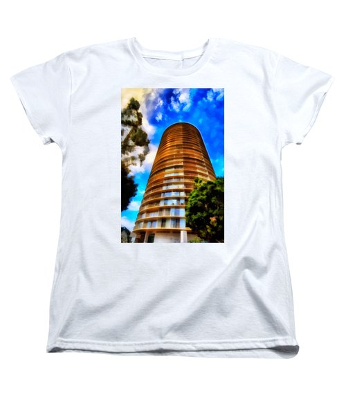 International Tower  Women's T-Shirt (Standard Cut) by Joseph Hollingsworth