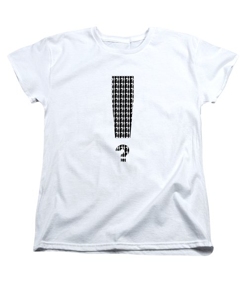 Interrobang 3 Women's T-Shirt (Standard Cut) by Brian Wallace