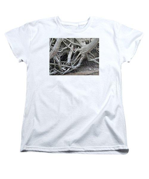Intertwined Women's T-Shirt (Standard Cut) by Sandra Church
