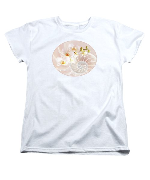 Intimate Fusion In Soft Pink Women's T-Shirt (Standard Cut)