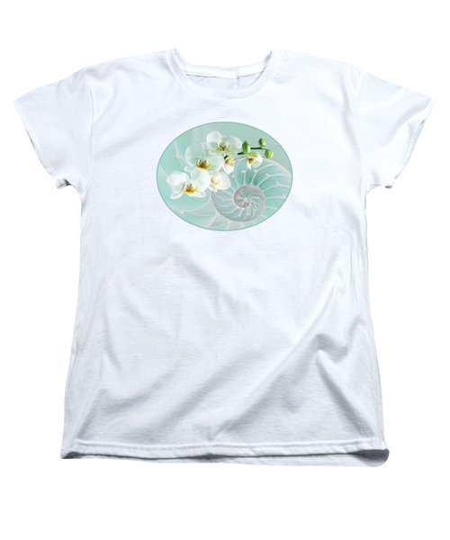 Intimate Fusion In Turquoise Women's T-Shirt (Standard Fit)