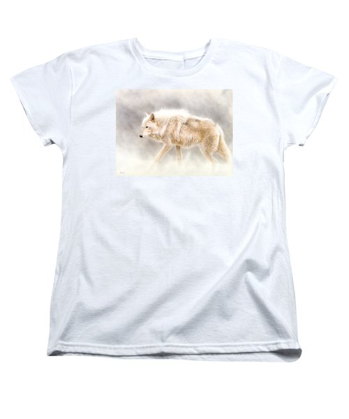 Into The Mist Women's T-Shirt (Standard Cut) by Sandi Baker