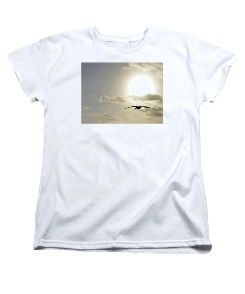 Women's T-Shirt (Standard Cut) featuring the photograph Into The Sun by Sebastien Coursol