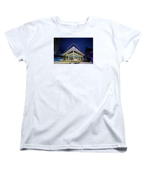 Inverted Pyramid Women's T-Shirt (Standard Cut)