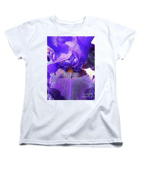 Iris Garden 16 Women's T-Shirt (Standard Cut) by Randall Weidner