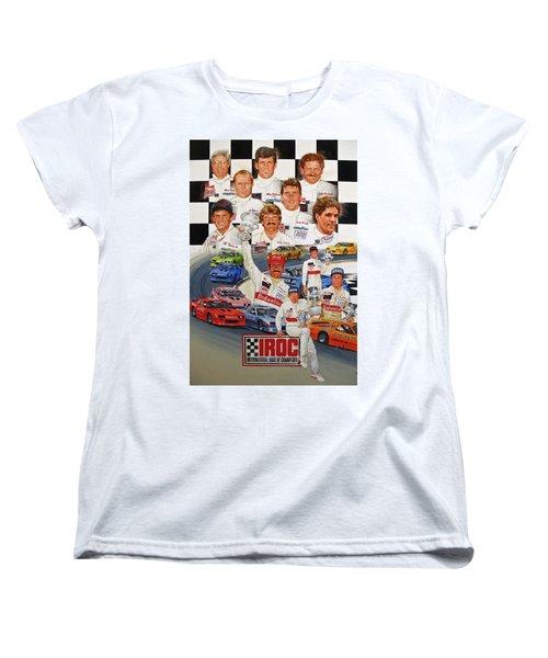 Iroc Racing Women's T-Shirt (Standard Cut) by Cliff Spohn