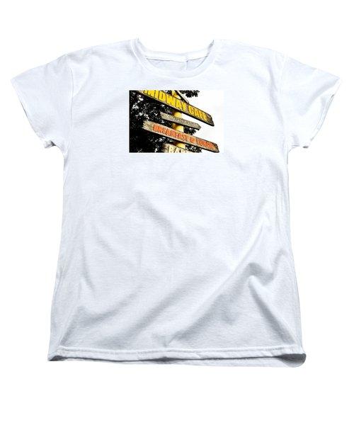 Islamorda Spot Women's T-Shirt (Standard Cut) by JAMART Photography