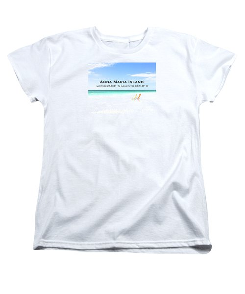 Island Breezes Women's T-Shirt (Standard Cut) by Margie Amberge