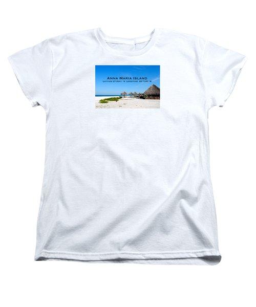 Island Time Women's T-Shirt (Standard Cut) by Margie Amberge