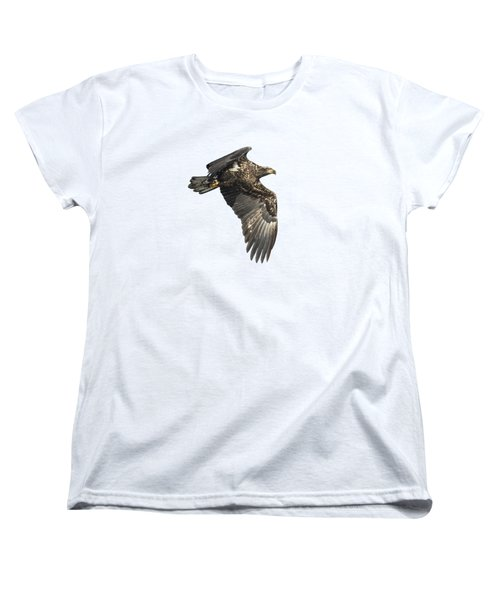 Isolated Eagle 2017-2 Women's T-Shirt (Standard Cut) by Thomas Young