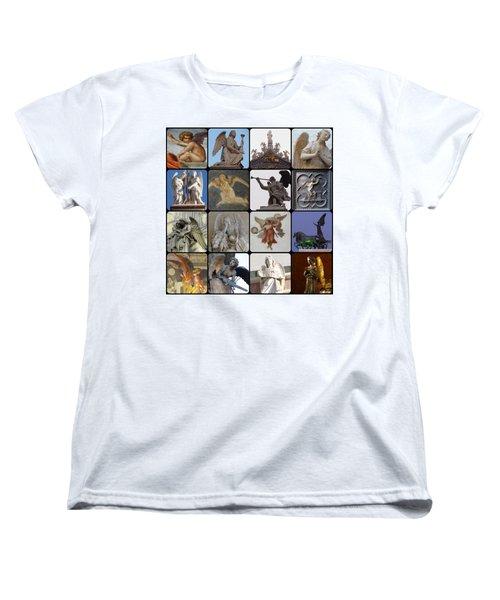 Women's T-Shirt (Standard Cut) featuring the photograph Italian Angels by Tim Mattox