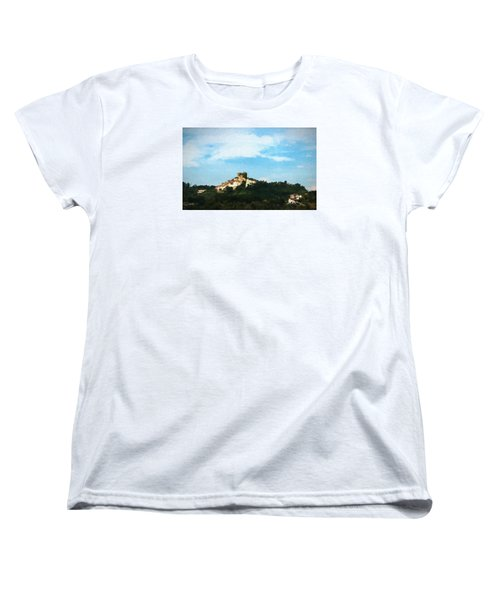 Women's T-Shirt (Standard Cut) featuring the photograph Italian Countryside by Kathleen Scanlan