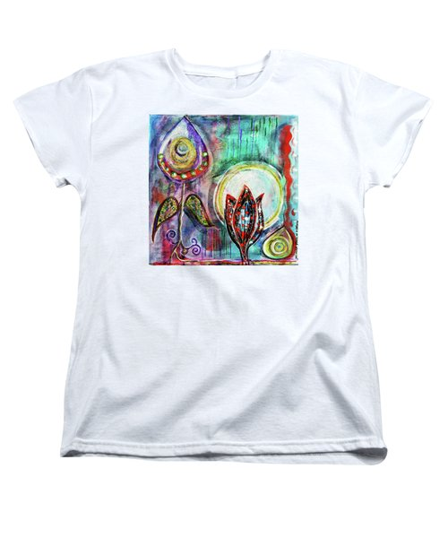 It's Connected To The Moon Women's T-Shirt (Standard Cut)