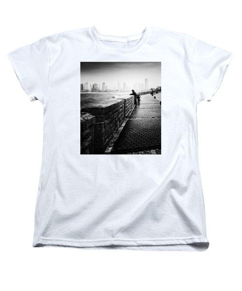 Jaffa Port Women's T-Shirt (Standard Cut) by Hayato Matsumoto