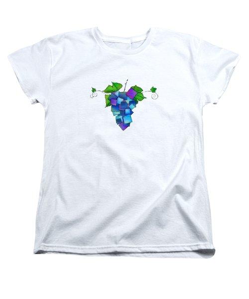 Jamurissa - Square Grapes Women's T-Shirt (Standard Cut) by Cersatti