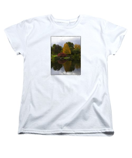 Japanese Garden Women's T-Shirt (Standard Cut) by R Thomas Berner