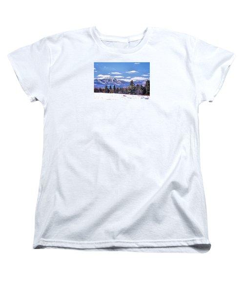 Jay Peak Women's T-Shirt (Standard Cut) by John Selmer Sr