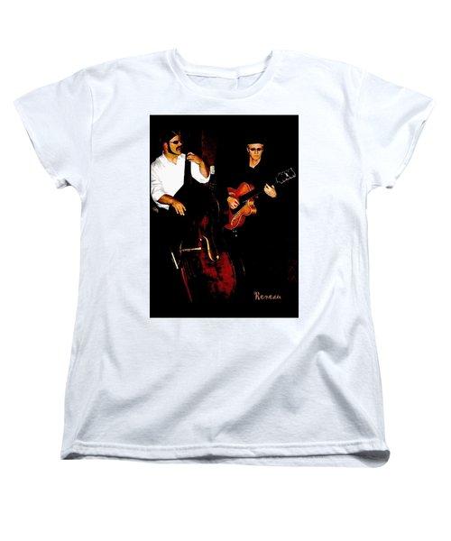 Jazz Musicians Women's T-Shirt (Standard Cut) by Sadie Reneau