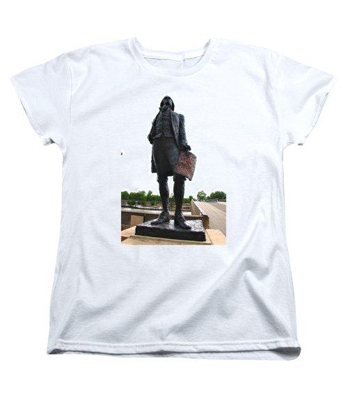 Jefferson In Paris Women's T-Shirt (Standard Cut) by Eric Tressler