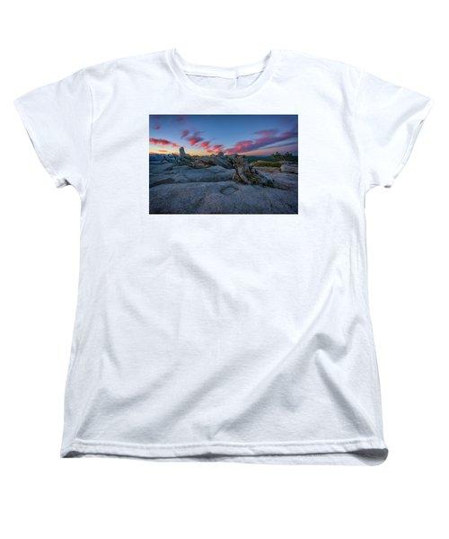 Women's T-Shirt (Standard Cut) featuring the photograph Jeffrey Pine Dawn by Rick Berk