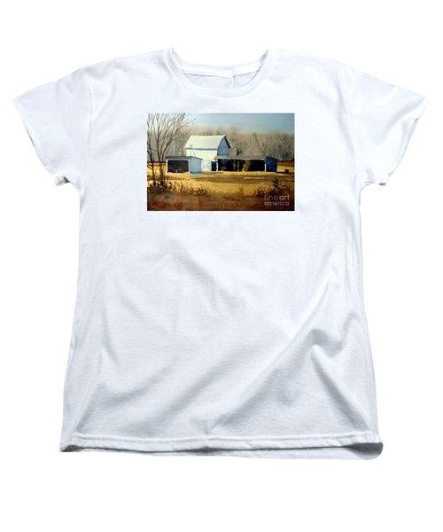 Jersey Farm Women's T-Shirt (Standard Cut) by Donald Maier