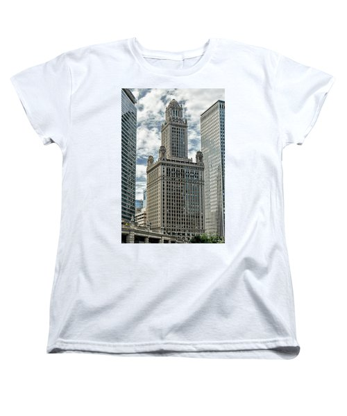 Jewelers Building Chicago Women's T-Shirt (Standard Cut) by Alan Toepfer