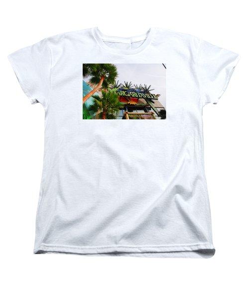 Jimmy Buffets Margaritaville In Las Vegas Women's T-Shirt (Standard Cut)